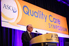 Award Winner, George P. Browman, MDCM, MSc, FRCPC, during the General Session