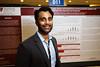 Vasu Divi, MD, FACS, presenting during Poster Session B