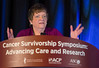 Christine Miaskowski, PhD, RN, FAAN, speaks during General Session 1: Dealing with Genetic Findings in Survivorship