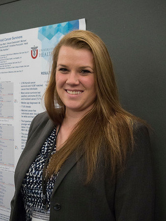 "Abstract #111, ""Late effects among young thyroid cancer survivors,"" presented by Brenna Blackburn, MPH, University of Utah,"