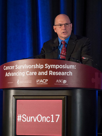 Kevin Oeffinger, MD, Symposium Chairman during Opening Remarks