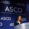 Zsofia Stadler, MD, Memorial Sloan Kettering Cancer Center, presenting Abstract 1509, Pan-cancer microsatellite instability to predict for presence of Lynch syndrome, during Saturday Press Briefing