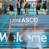 Attendees arrive at ASCO Annual Meeting