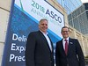 ASCO President Bruce E. Johnson and CEO Clifford A. Hudis