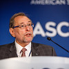 Richard L. Schilsky, MD, FACP, FASCO, FSCT, speaks during Friday, Press Briefing