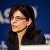 Susan Halabi, PhD, Duke University Medical Center, presenting LBA5005, Overall Survival between African-American (AA) and Caucasian (C) Men with metastatic Castration-Resistant Prostate Cancer -  (mCRPC), during Friday, Press Briefing