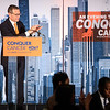 Clifford A. Hudis, MD, FACP, FASCO, ASCO & Conquer Cancer Chief Executive Officer, speaks during 2018 Conquer Cancer Foundation Dinner
