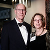Steve Smith and Christine Luckscheiter during 2018 Conquer Cancer Foundation Dinner