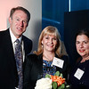 Jeff Hageman, Dr. Julie Vose and Dotti Cahill during 2018 Conquer Cancer Foundation Dinner