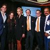 Bill Rancic, Jane Hertzmark Hudis, Giuliana Rancic, Dr. Tom Roberts, Jr., Dr. Cliff Hudis and Raj Mantena during 2018 Conquer Cancer Foundation Dinner