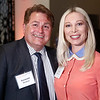 Raymond Western and Lyna Lengevych during 2018 Conquer Cancer Foundation Dinner