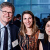 Joerg Barth, Marcia Gaspar and Victoria Zazulina during 2018 Conquer Cancer Foundation Dinner