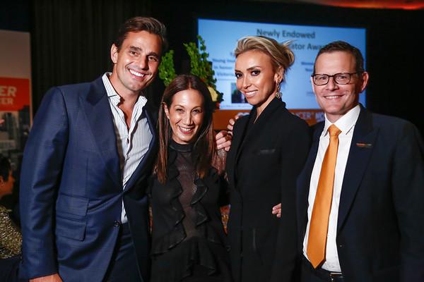 Bill Rancic, Jane Hertzmark Hudis, Giuliana Rancic and Dr. Cliff Hudis during 2018 Conquer Cancer Foundation Dinner