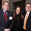 Dr. Rich Schilsky, Jane Hertzmark Hudis and Dr. Cliff Hudis during 2018 Conquer Cancer Foundation Dinner