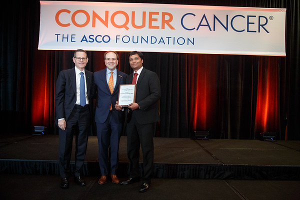 Presentation of Fred J. Ansfield, MD, Endowed Young Investigator Award during 2018 Grants & Awards Ceremony and Reception