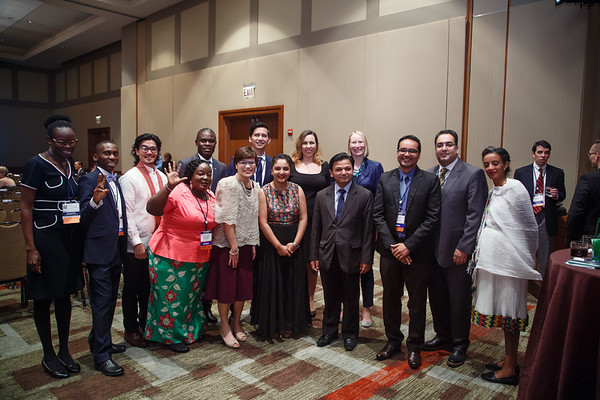 Attendees and donors during 2018 Grants & Awards Ceremony and Reception