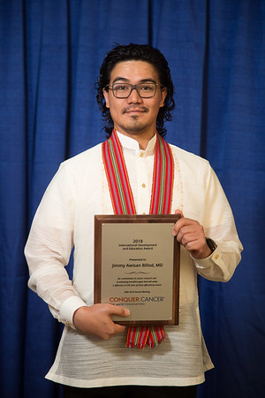 Recipients during 2018 Grants & Awards Ceremony and Reception