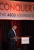 Sarat Chandarlapaty, MD, PhD, Chair of the Conquer Cancer Foundation of ASCO Grants Selection Committee during 2018 Grants & Awards Ceremony and Reception