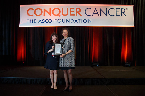 Presentation of the Hologic, Inc Endowed Women Who Conquer Cancer Mentorship Award during 2018 Grants & Awards Ceremony and Reception