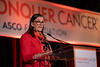 Nancy R. Daly, MS, MPH, Conquer Cancer Executive Vice President & Chief Philanthropic Officer, during 2018 Grants & Awards Ceremony and Reception