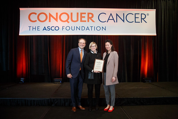 Women Who Conquer Cancer Endowed Young Investigator Award during 2018 Grants & Awards Ceremony and Reception