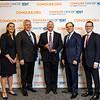 Mr. Matt Shaulis, Pfizer, with ASCO leadership with ASCO leadership during 2018 Conquer Cancer Top Donor Awards