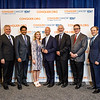 Conquer Cancer Top Donor, Cancer Treatment Centers of America, with ASCO leadership during 2018 Conquer Cancer Top Donor Awards