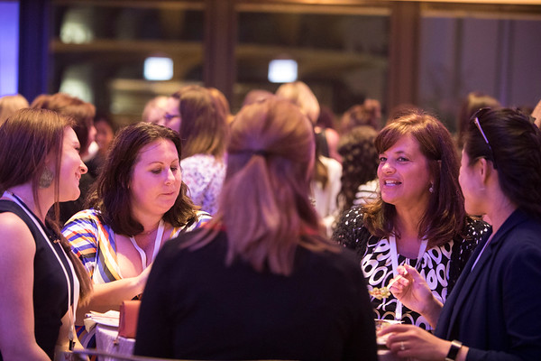 Event attendees during 2018 Women Leaders in Oncology Event