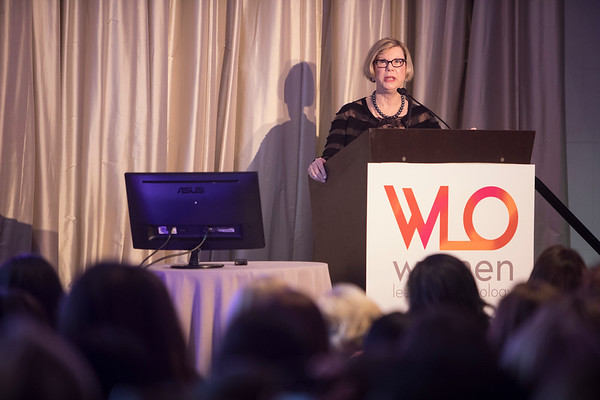 Dr. Sandra Swain during 2018 Women Leaders in Oncology Event