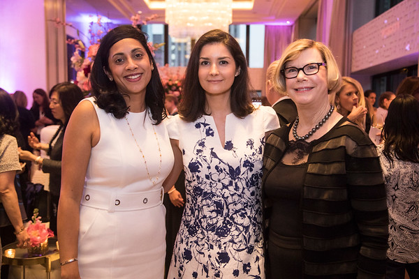 Dr. Neelima Denduluri, Dr. Ana Garrido-Castro and Dr. Sandra Swain during the 2018 Women Leaders in Oncology Event