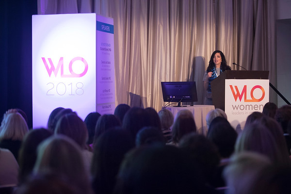 Deanna van Gestel, CEO, Vaniam Group during 2018 Women Leaders in Oncology Event