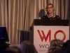 Dr. Sandra M. Swain, Chair, Women Who Conquer Cancer during 2018 Women Leaders in Oncology Event
