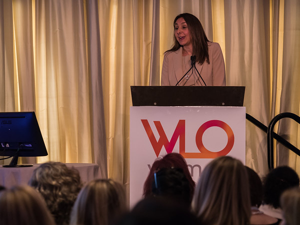 Liz Barrett, CEO, Novartis Oncology during 2018 Women Leaders in Oncology Event