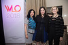 Deanna Van Gestel, Dr. Laura Levine, and Dr. Sandra Swain during 2018 Women Leaders in Oncology Event