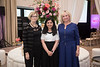 Dr. Sandra Swain, Shawn Tomasello with Dr. Maliha Nusrat during 2018 Women Leaders in Oncology Event