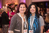 Dr. Rejin Kebudi and Deanna van Gestel during 2018 Women Leaders in Oncology Event
