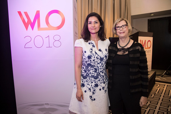 Dr. Sandra Swain with Dr. Ana Garrido-Castro during 2018 Women Leaders in Oncology Event