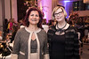 Dr. Sandra Swain with Dr. Rejin Kebudi during 2018 Women Leaders in Oncology Event