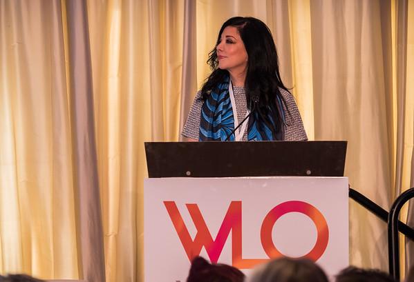 Deanna van Gestel, CEO, Vaniam Group during 2018 Women Leaders in Oncology Event