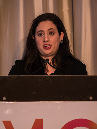 Lauren Levine, MD, Recipient of 2018 Women Leaders in Oncology Women Who Conquer Cancer Young Investigator Award during 2018 Women Leaders in Oncology Event