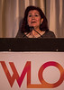 Rejin Kebudi, MD, Recipient of the 2018 International Women Who Conquer Cancer Mentorship Award during 2018 Women Leaders in Oncology Event