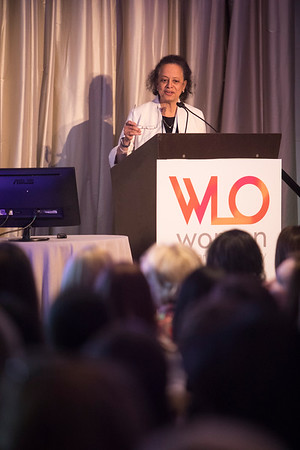 Lori Pierce, MD, FASTRO, FASCO, Recipient of the 2018 Hologic, Inc. Endowed Women Who Conquer Cancer Mentorship Award during 2018 Women Leaders in Oncology Event