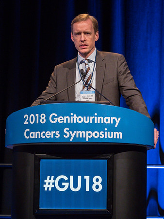 Peter C. Black, MD, speaks during Welcome and General Session 4: Current and Future Directions of Muscle-Invasive Bladder Cancer
