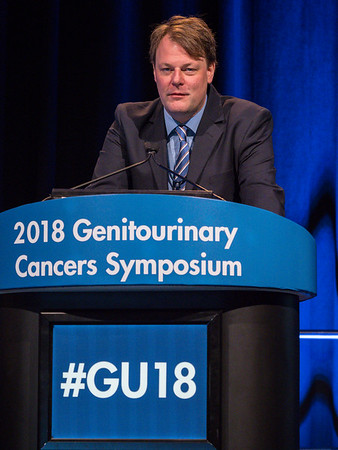 Tobias Else, MD, speaks during Welcome and General Session 7: Management of Adrenocortical Carcinoma and Pheochromocytoma