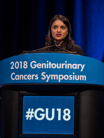 Himisha Beltran, MD during General Session 2: Emerging Diagnostics and Therapies in Advanced Prostate Cancer