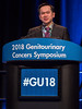 Paul L. Nguyen, MD, Program Committee Chair-Elect during Welcome and General Session 7: Management of Adrenocortical Carcinoma and Pheochromocytoma