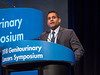 Abhishek A. Solanki, MD, MS, speaks during Welcome and General Session 4: Current and Future Directions of Muscle-Invasive Bladder Cancer