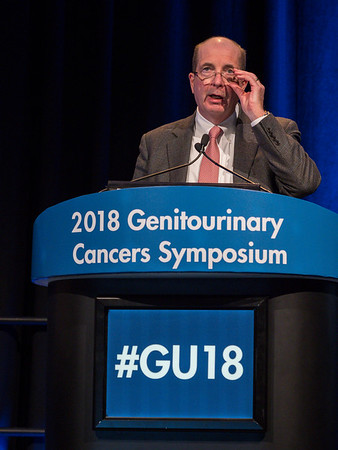 "Robert Motzer, MD, presenting Abstract 578, ""IMmotion151: A Randomized Phase III Study of Atezolizumab Plus Bevacizumab vs Sunitinib in Untreated Metastatic Renal Cell Carcinoma (mRCC),"" during Oral Abstract Session C: Renal Cell Cancer"