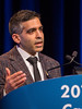 Ronac Mamtani, MD, presents Abstract 575 during General Session 8: Comprehensive Characterization and Management of the Incidental Renal Mass