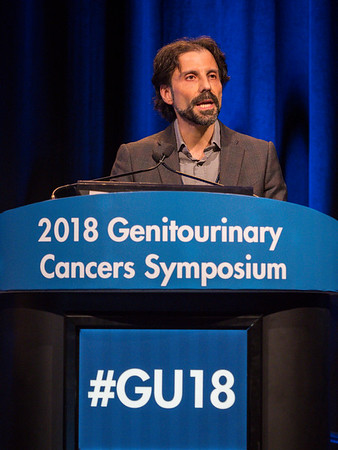 Antonio Finelli, MD, speaks during General Session 8: Comprehensive Characterization and Management of the Incidental Renal Mass
